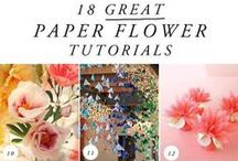 Crafty How To Instructions and Craft Tutorials / by Christina Voilà