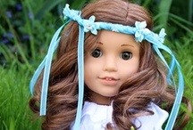 American Girl Doll  / I love sewing and creating for dolls.....If I see it and like it , I pin it if not for me for other American Girl doll or doll collectors and creators of dolls.   / by Victoria ~ Rose