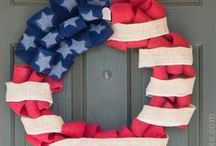 Holiday - 4th of July / Show off your patriotic pride with these frugal and fun 4th of July holiday recipes, crafts and projects!
