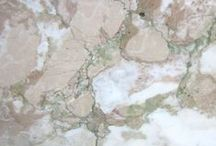 Granite and Quartz and Tile...oh my! / a collection of granite, quartz, tile and more natural stone projects and colors that i <3
