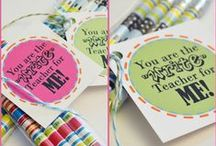 Teacher Gifts / by Courtney Price I Glamour Avenue Parties