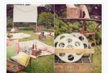 Outdoor/ Indoor Movie Night Ideas / by Courtney Price I Glamour Avenue Parties