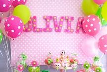 Kids Parties: Girl Party Themes / by Courtney Price I Glamour Avenue Parties