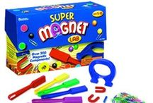 Playing and Learning with Magnets / Magnets are the most versatile learning tool on the market these days!