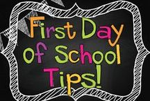 First Day of School / Get those first day jitters out of the way with these great First Day of School activities!