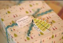 Wrapping, Labeling, Printing / by Janelle Allen