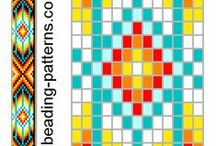 Loom Beading Friendship Bracelet and Weaving Free Patterns and Tutorials / by Christina Voilà