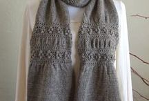 Crafts - Fiber Arts - Knit - Scarves & Cowls / by Kristin