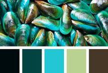 Palette Colors Design and Illustration Inspiration / by Christina Voilà