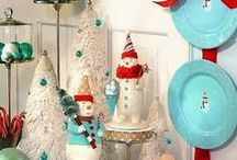 Holidays - Christmas and Winter - Crafts and Decor / by Kristin