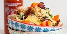 Cauliflower Rice / Recipe ideas using cauliflower rice