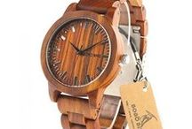Wooden Watches / Men and Women Watches made from Real Wood