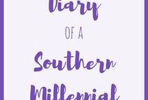 Diary of a Southern Millennial / My blog posts! Lifestyle, food and cooking, home decor, travel, advice, bullet journaling, planning, recipes, and more @ www.diaryofasouthernmillennial.com