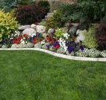 Landscaping with borders / Landscaping designs, landscaping with brick borders, Landscaping, Brick Borders