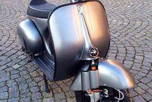 Vespa and Cafe Racers / True Retro Classic Fashion Custom bikes