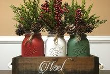 Christmas / Christmas decorating ideas, Christmas decorations, fun ways to decorate for the holidays.