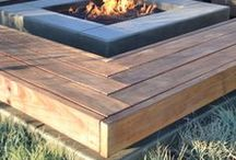 Backyard Fire Pits / Building a backyard fire pit, build your own fire pit, gas fire pits, diy fire pit ideas, Fire Pits, Backyard, Outdoor, DIY Fire Pit, Round Fire Pit, Square Fire Pit, Fire Pit Ideas