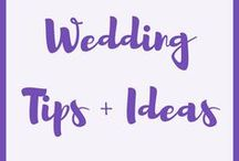 Wedding Tips + Ideas / Wedding tips and ideas.  Wedding planning, weddings, wedding photography, wedding venue, wedding dress, wedding inspo, wedding inspiration, weddings, bridesmaids, wedding colors