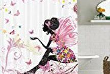 Kids shower curtains & kids bathroom decor / Kids Shower Curtains, Kids bathroom decor, Bathroom ideas for kids, Kids bathroom ideas