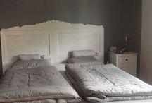 Neues Schlafzimmer / Alles weiß gestrichen
