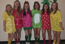 halloween / easy costumes for big groups