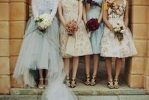 your wedding // wedding party style