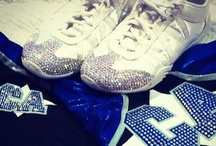 my obsession. my life. my passion. cheerleading! / by Jenna Geib