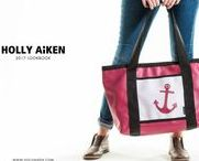 Holly Aiken Bags / Built to withstand the daily grind, each Holly Aiken bag is hand-cut in our brick and mortar shop, Stitch, and made in North Carolina.