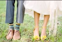 . yellow + grey wedding . / by Katherine Fedele Dearborn