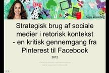 """Udvalgte slides fra foredraget """"Strategisk brug af sociale medier"""""""