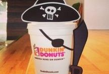Dunkin' Cup Costumes / There's something about a Dunkin' Donuts Coffee Cup in costume that makes us smile. Follow us as we share fun photos from our team & creative DD Fans.