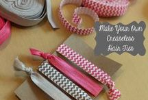 Crafters Cashe: DIY Hair Accessories / DIY Hair Accessories - Random  None of the comments are mine. / by Becci Waltz