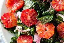 Recettes fraîcheur / Inspirations de recettes à cuisiner en une chaude journée d'été.