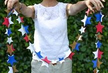 Fourth of July Party Ideas / Stars and stripes. Red, white, and blue. Americana. We curated a collection of Fourth of July party ideas that you'll love! / by PartyPail