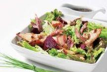 Salades / Inspirations pour cuisiner des salades complètes et saines.