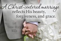 Christian Marriage / A Christ centered marriage....to encourage each other, grow in Christ and make it to Heaven together forever <3 / by Vicki Gallmeyer