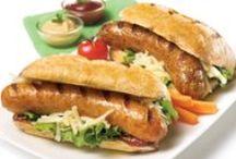 Hot-dogs gourmands