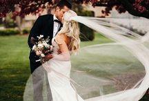 Предсвадебные и свадебные фотографии пар