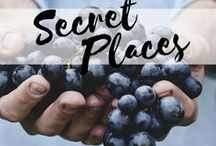 My Secret Places / If you don't tell, I'll let you peak into the amazing little places I've discovered on my travels.