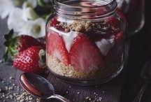 Dessert Jars / Styling ideas for shooting dessert jars