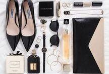 Fashion Flatlays / Inspiration for shooting fashion flatlays