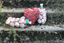 Le coeur & l'ail rose / Le coeur découvre l'ail rose