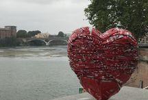 Le coeur & la Garonne toulouse / Le coeur & la Garonne