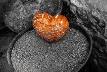 Le Coeur et le pigeonnier / #pigeonnier #pigeon #coeur #tarn #art