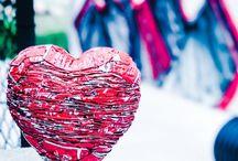 Le COEUR en street art / Notre cœur dans la rue !