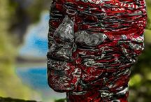 African Man 4 / Notre œuvre d'art est dans la nature .