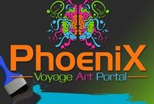 Phoenix Voyage Art Portal / Artwork from Phoenix Voyage and its partners.