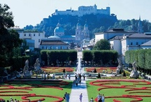 Salzburg during summer time / The marvellous Austrian town Salzburg with its sightseeing aims.