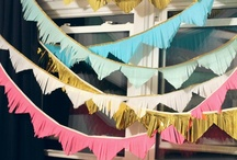 Bunting Beauty / Lots of bunting ideas