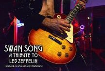 Swan Song - Past and Present, The Song Remains The Same. / Established in 1999, Swan Song is the longest running Led Zeppelin tribute band in the southern USA. This board features past and present performing members. / by Swan Song - Led Zep Tribute